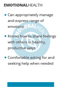 emotional health bullets
