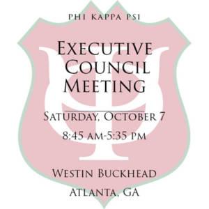 executive council meeting announcement