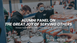 Thumbnail for Alumni Panel on The Great Joy of Serving Others